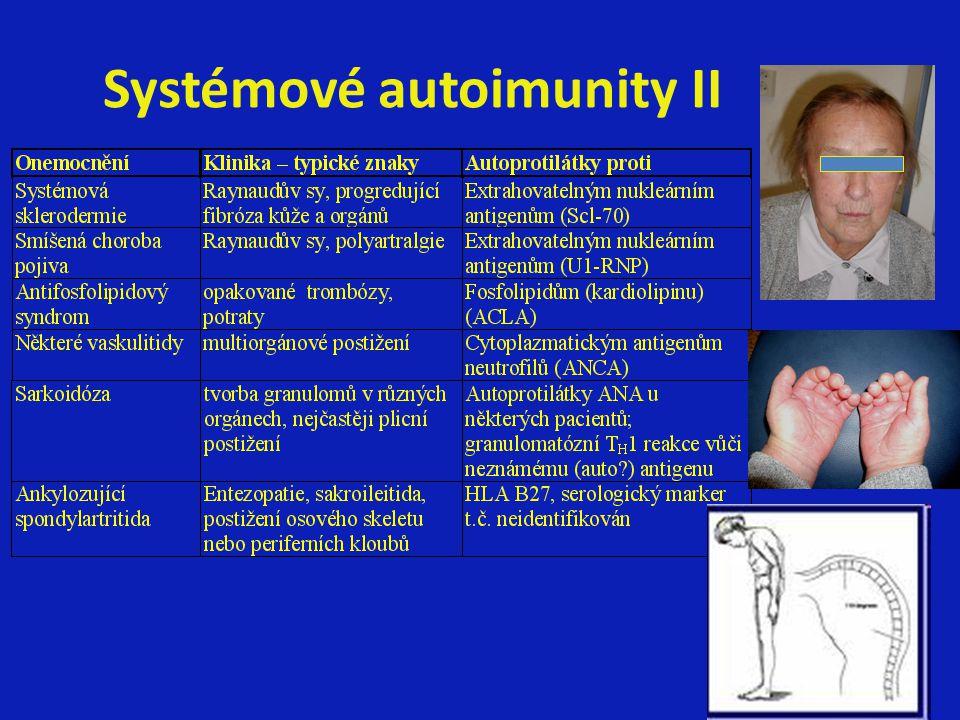 Systémové autoimunity II