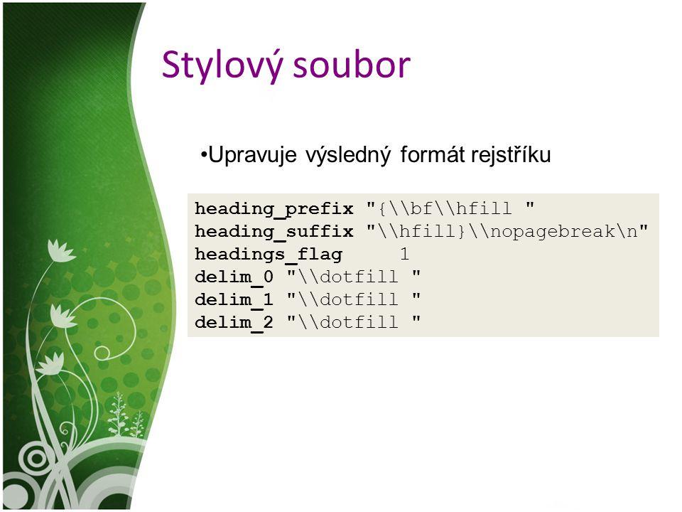 Stylový soubor heading_prefix