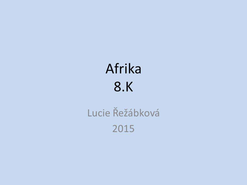 Afrika 8.K Lucie Řežábková 2015