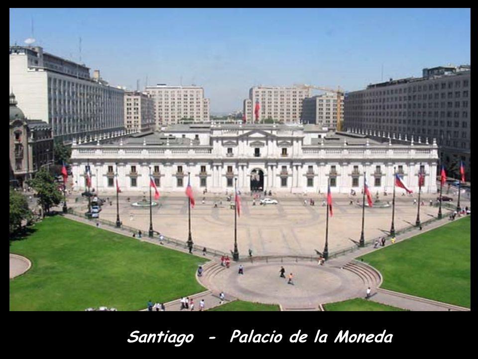 Mrakodrapy v Santiagu