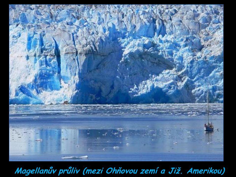 Ledovec na jezeře Grey (Grey Lake)