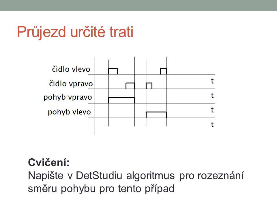 Možné řešení Pro jeden směr Pro detekci hrany využijeme modul BinDiff bit @vystup je v log.