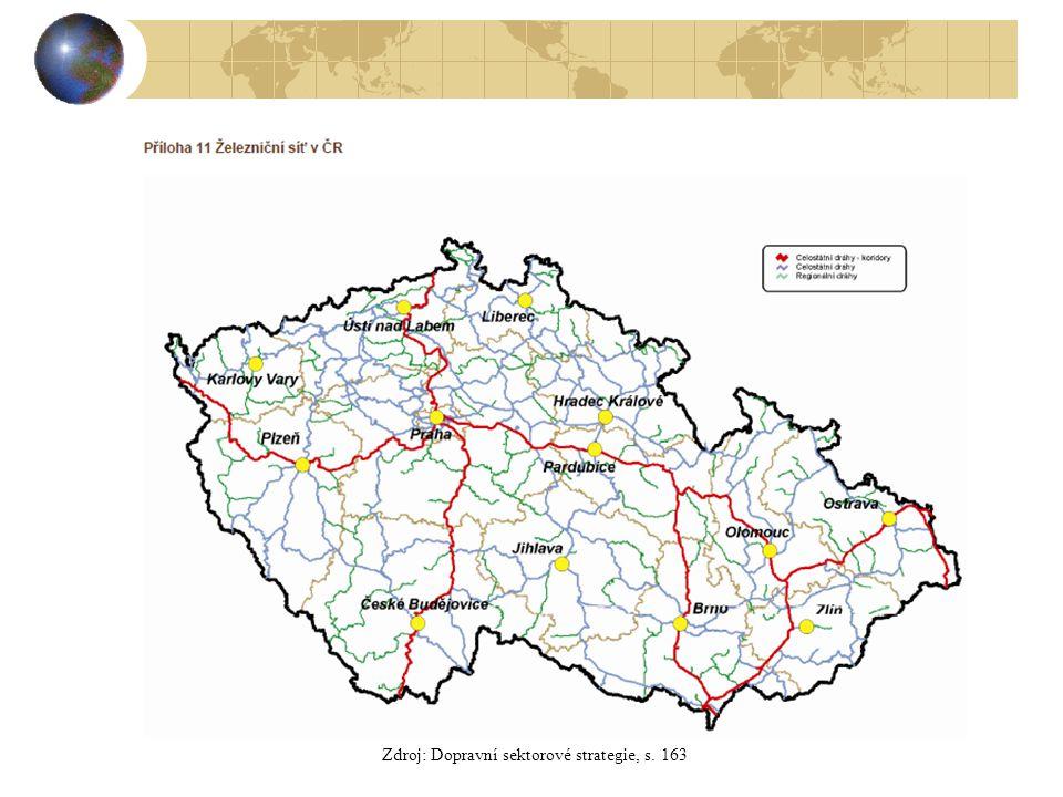 Zdroj: Dopravní sektorové strategie, s. 163
