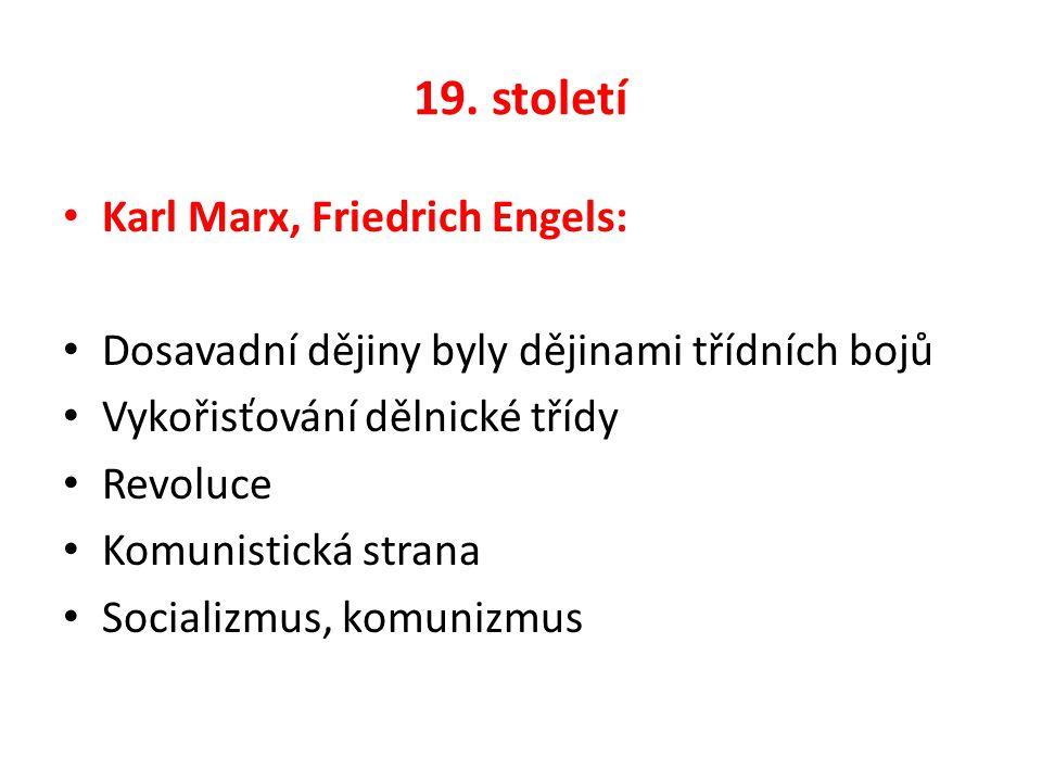 3 proudy marxizmu 1.Eduard Bernstein - revizionizmus 2.