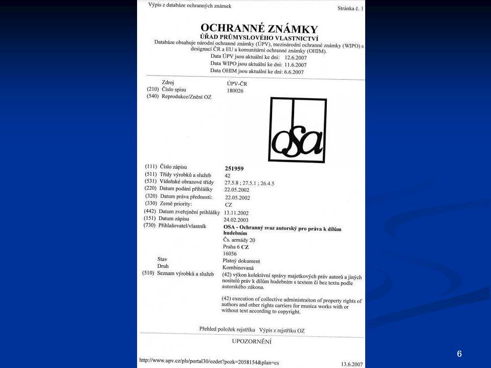 77  Sjednávání licenčních smluv dle a.z. Sjednávání licenčních smluv dle a.