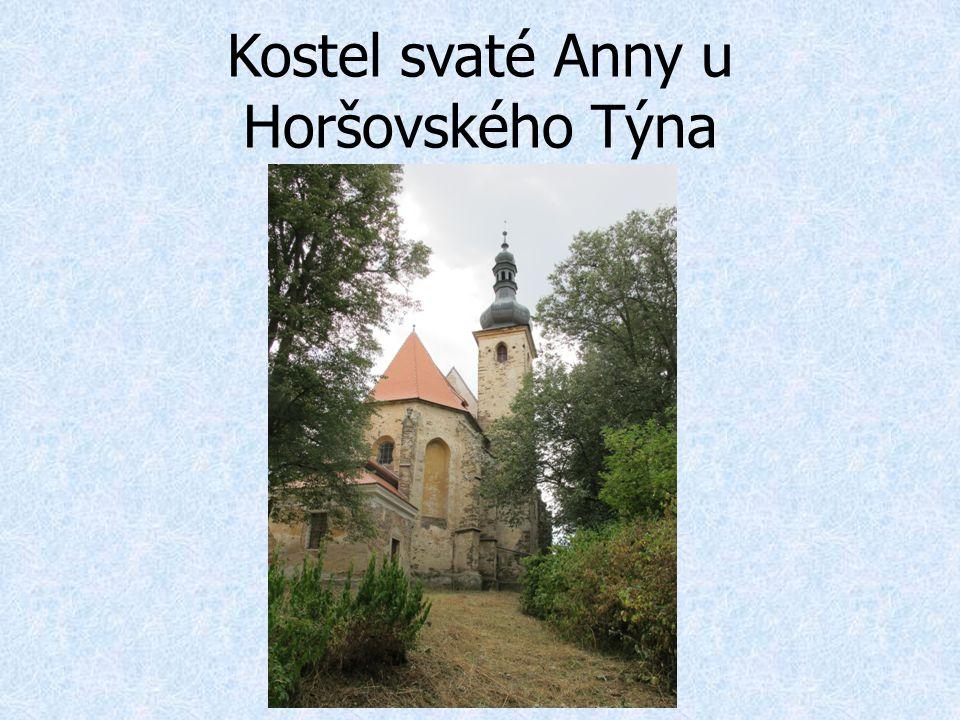 Kostel svaté Anny u Horšovského Týna