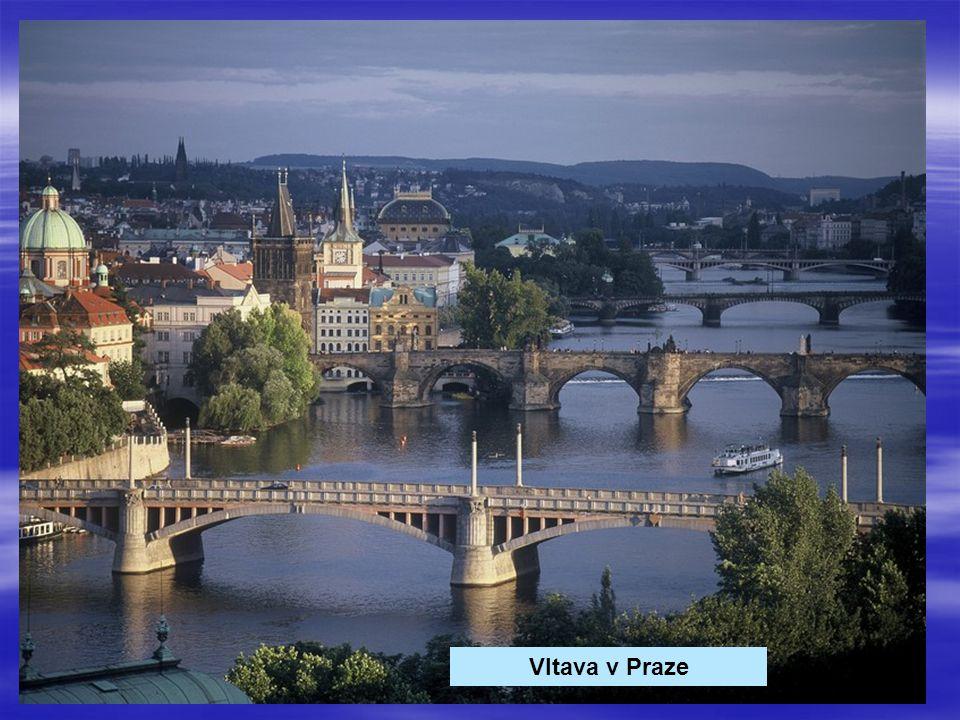 Vltava v Praze