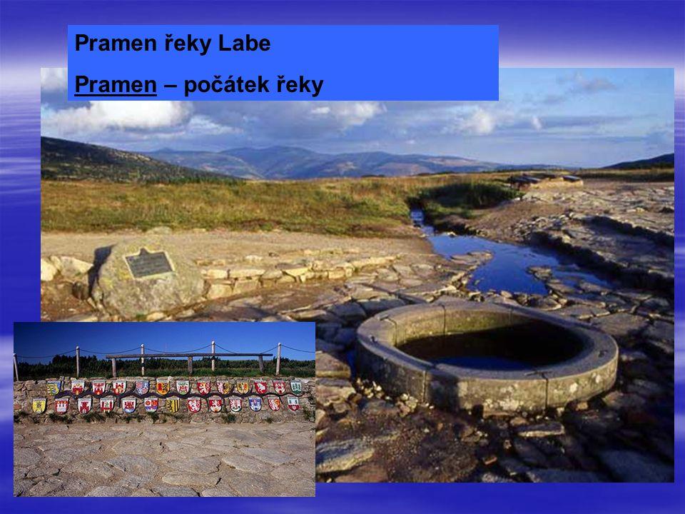 Pramen řeky Labe Pramen – počátek řeky