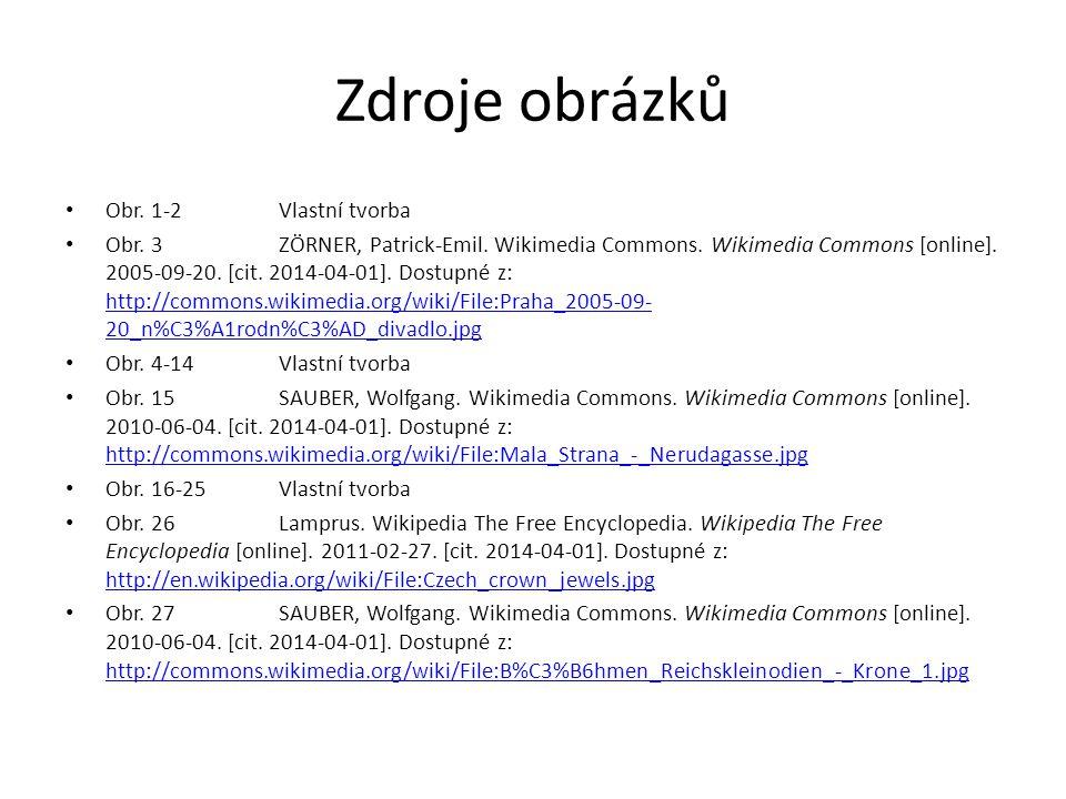 Zdroje obrázků Obr. 1-2Vlastní tvorba Obr. 3ZÖRNER, Patrick-Emil.