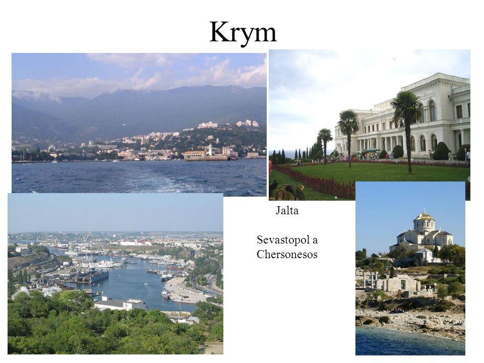 Krym Jalta Sevastopol a Chersonesos