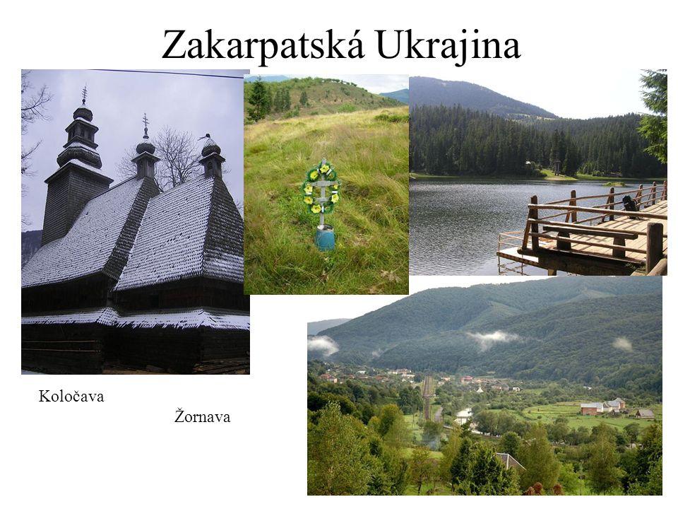 Zakarpatská Ukrajina Koločava Žornava