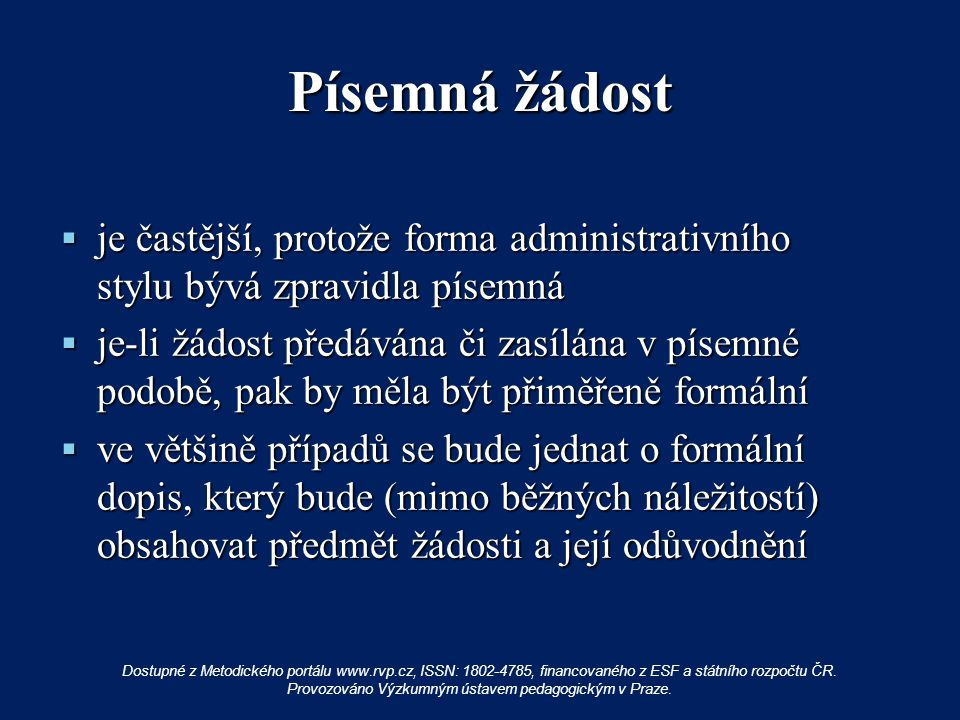 Použité zdroje: Český jazyk pro základní školy 7.Praha : Fortuna, 1998.