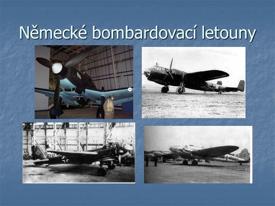 Německé bombardovací letouny