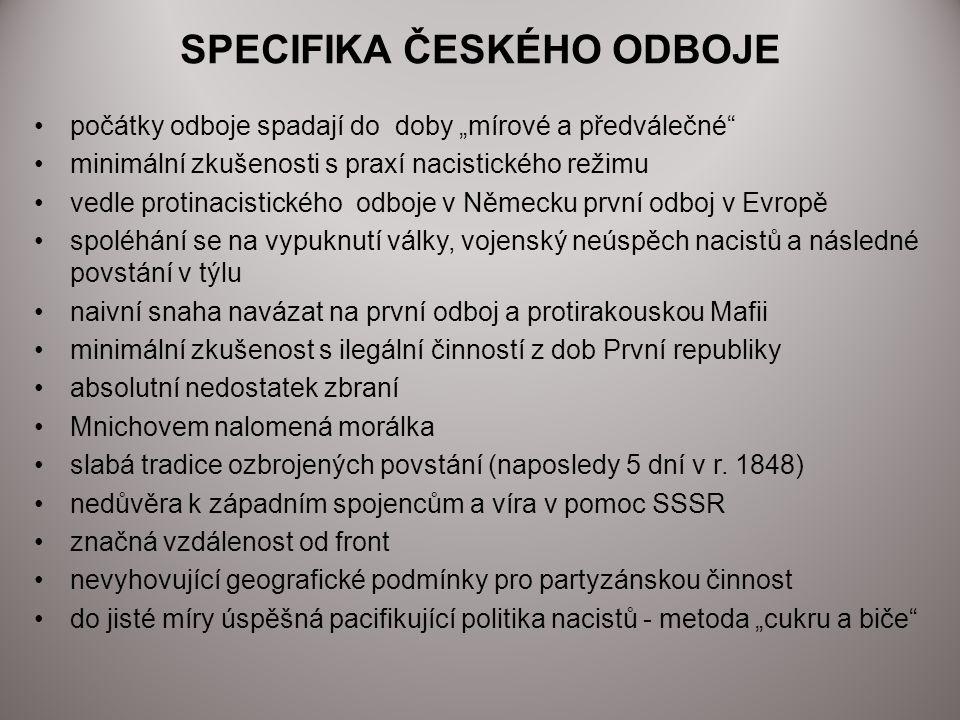 ZDROJE Za obnovu státu Čechů a Slováků; SPN 1992 Pasák T.: Pod ochranou Říše; Práh 1998 Gebhart J., Kuklík J.: Velké dějiny zemí Koruny české XV,a,b; Paseka 2006 Brandes D.: Češi pod německým protektorátem; Prostor 1999 http://cs.wikipedia.org/wiki/%C4%8Ceskoslovensk %C3%BD_odboj_(1939- 1945)#Protektor.C3.A1t_.C4.8Cechy_a_Morava http://cs.wikipedia.org/wiki/Protektor%C3%A1t_% C4%8Cechy_a_Morava 7.1.2012 20:33