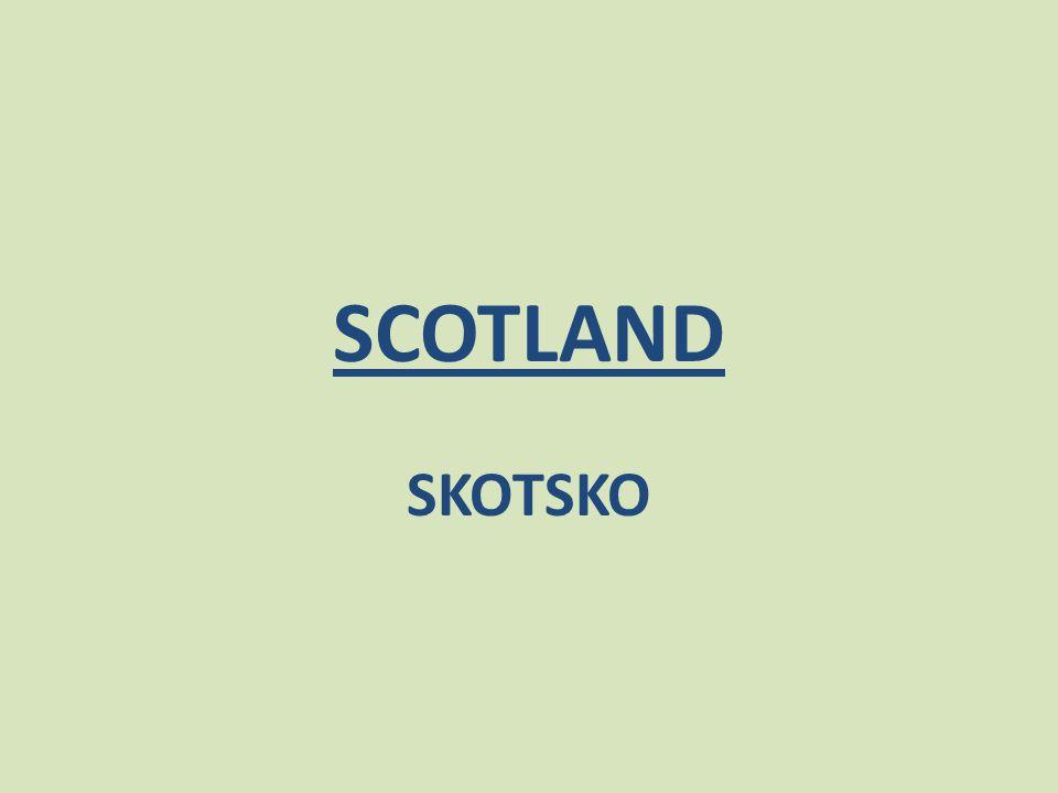 SCOTLAND SKOTSKO