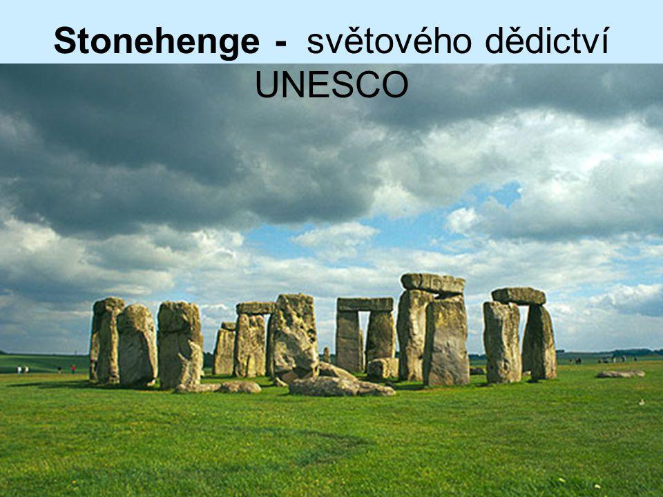 Stonehenge - světového dědictví UNESCO