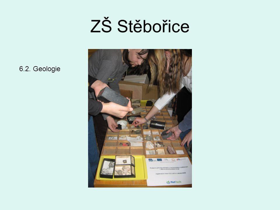 ZŠ Stěbořice 6.2. Geologie