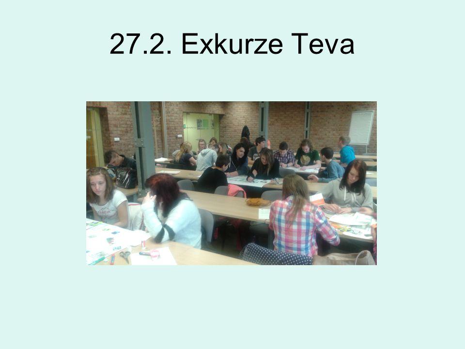 27.2. Exkurze Teva