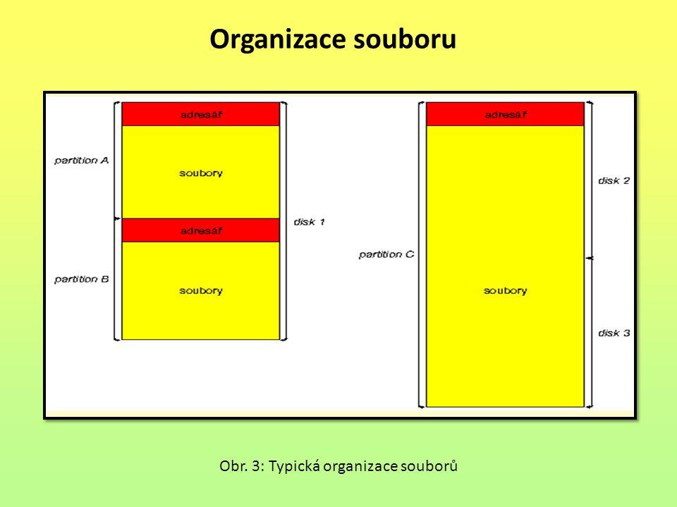 Organizace souboru Obr. 3: Typická organizace souborů