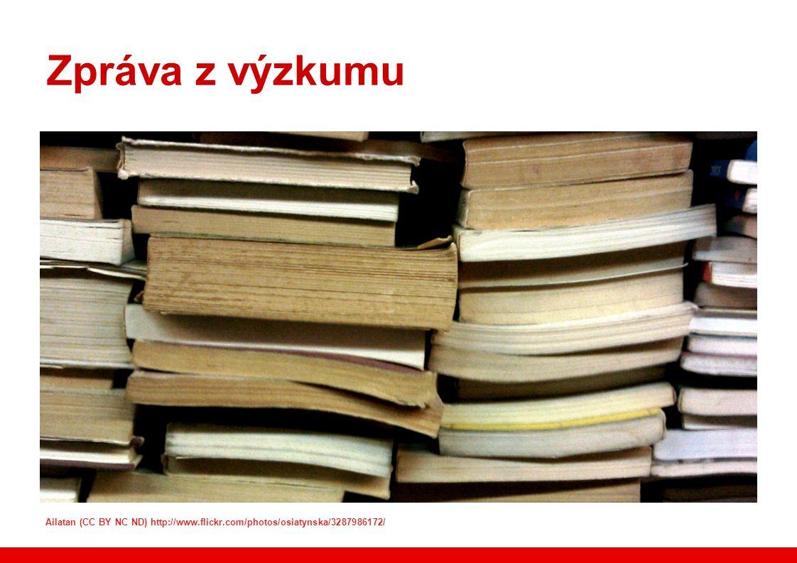 Zpráva z výzkumu Ailatan (CC BY NC ND) http://www.flickr.com/photos/osiatynska/3287986172/