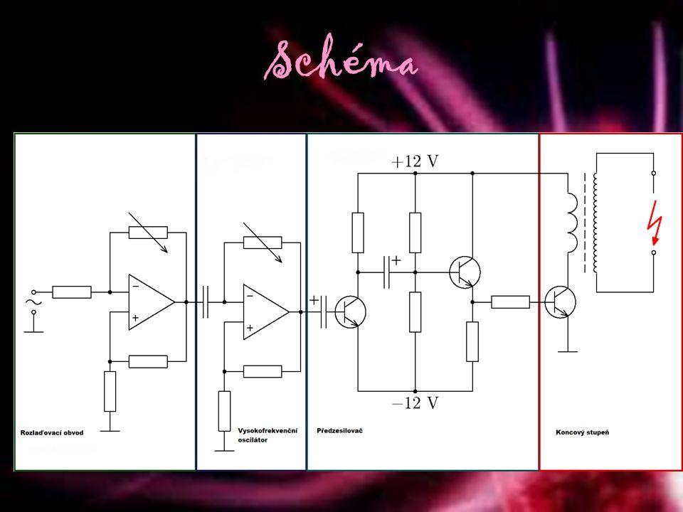 Data Napětí12 V Příkon48 W Účinnostpod 1 % Frekvence67 kHz Napětí výboje70 – 90 kV