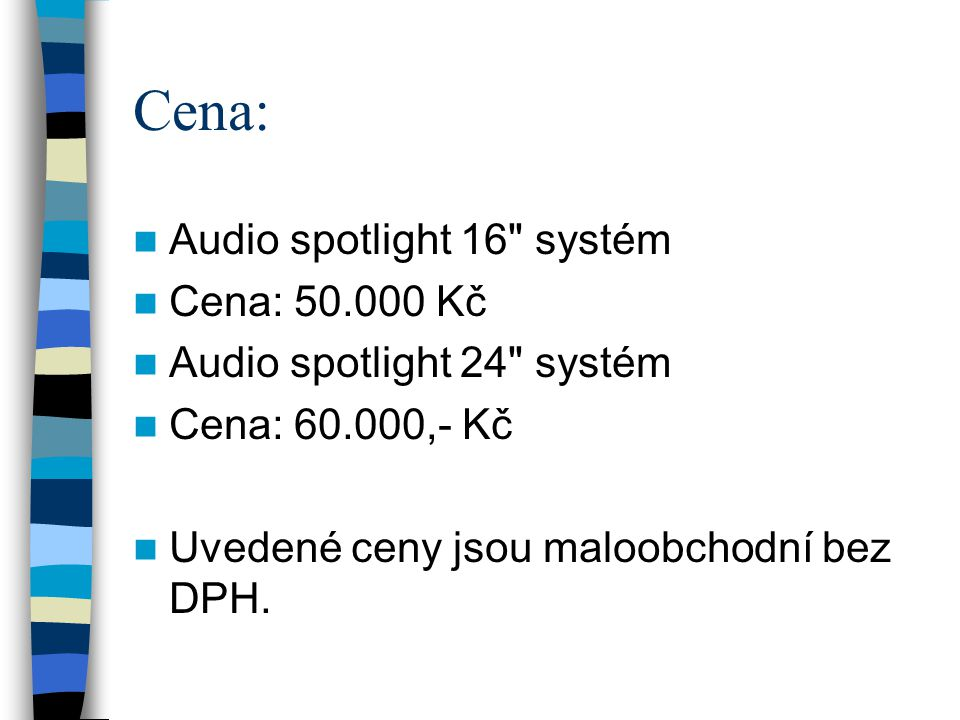 Cena: Audio spotlight 16