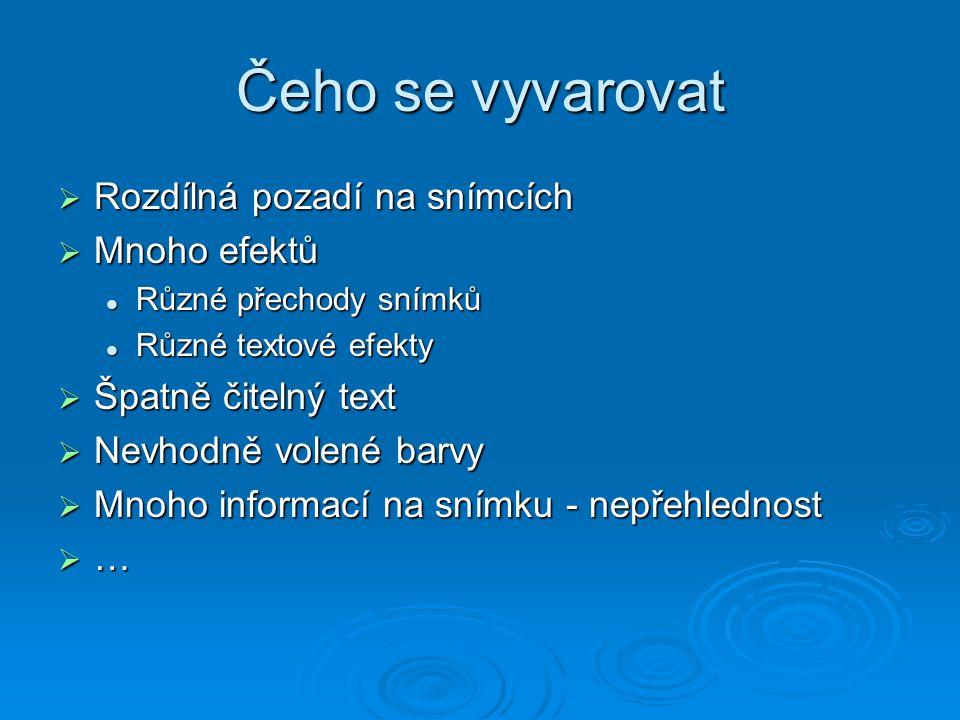 HŇUPÍKOVA prezentace