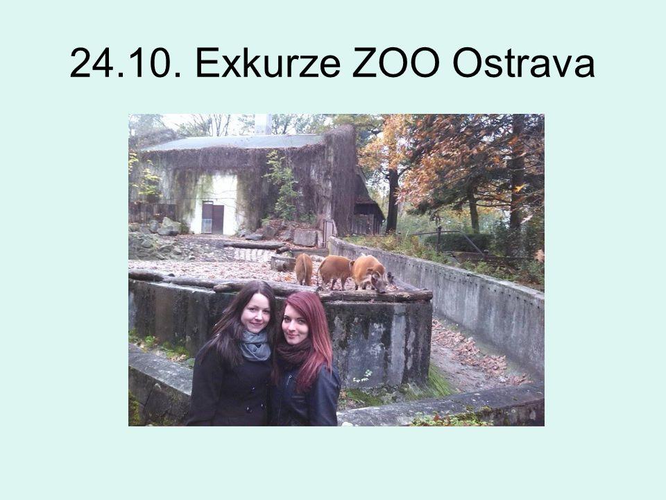 24.10. Exkurze ZOO Ostrava