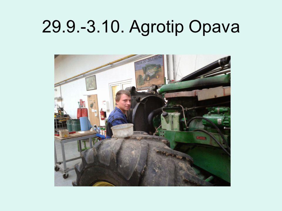 29.9.-3.10. Agrotip Opava