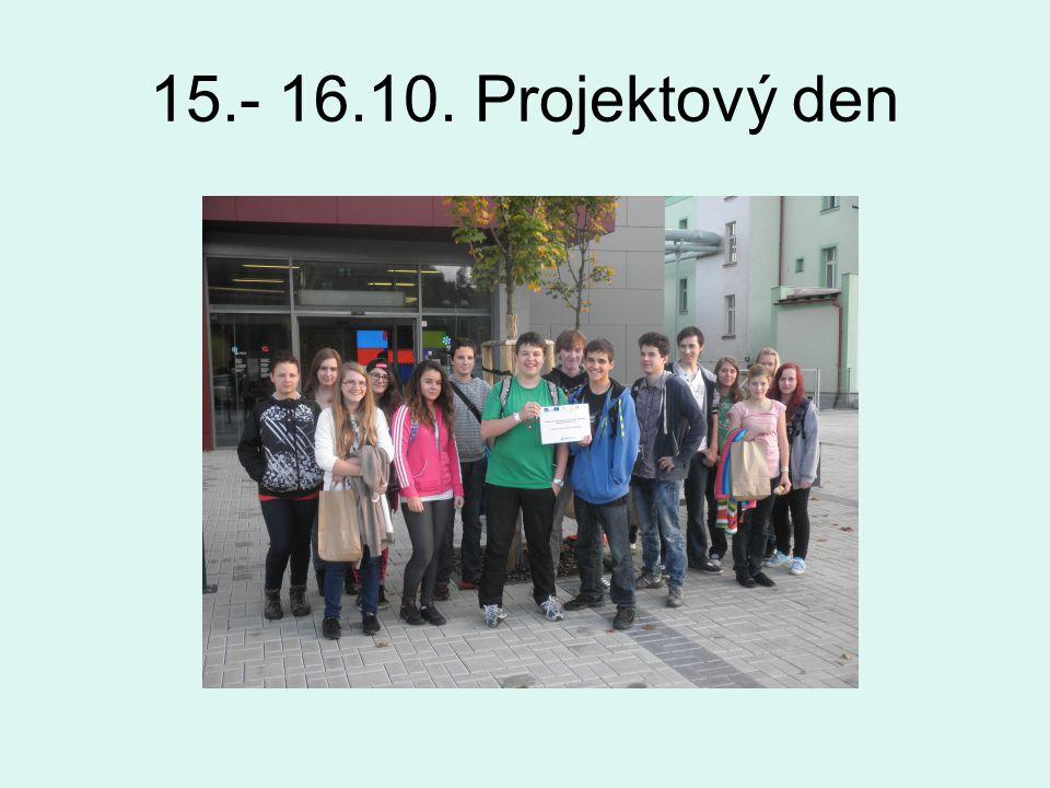 15.- 16.10. Projektový den