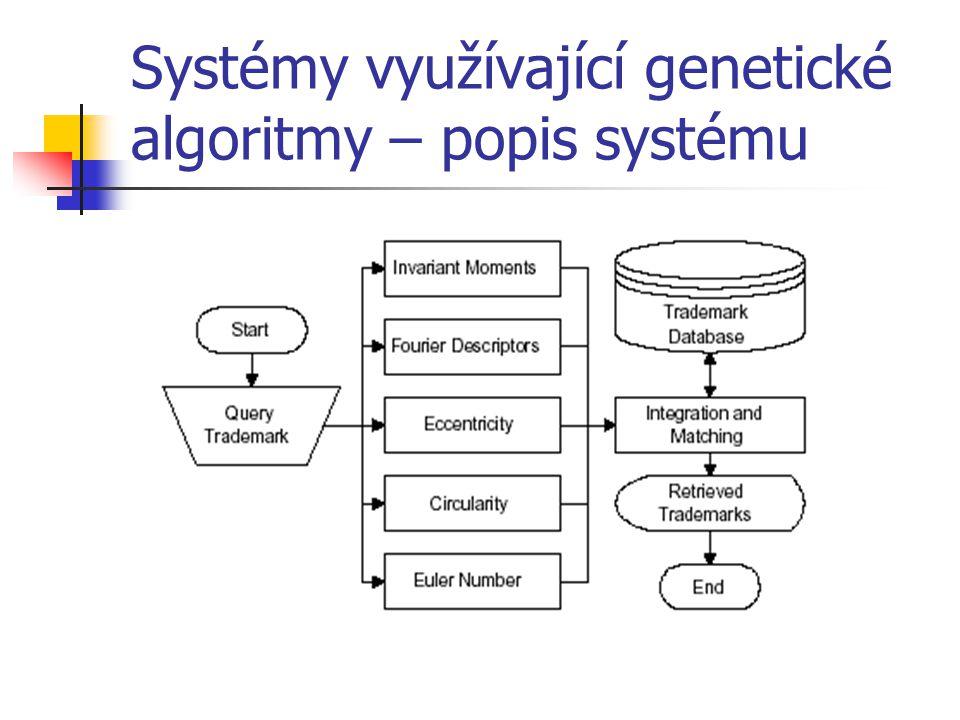 Systémy využívající genetické algoritmy – popis systému