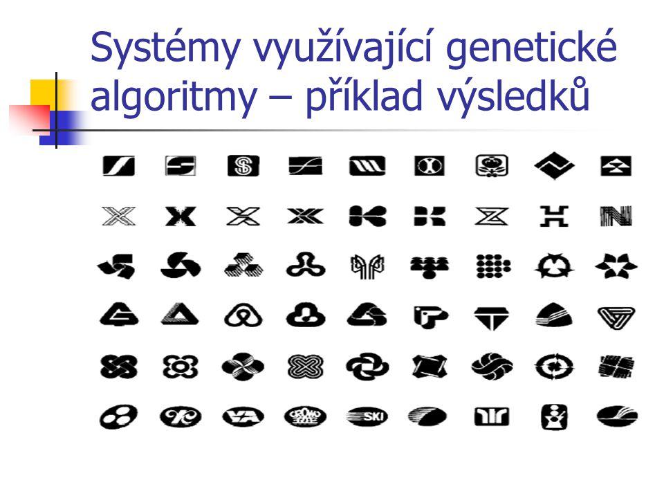 Systémy využívající genetické algoritmy – příklad výsledků