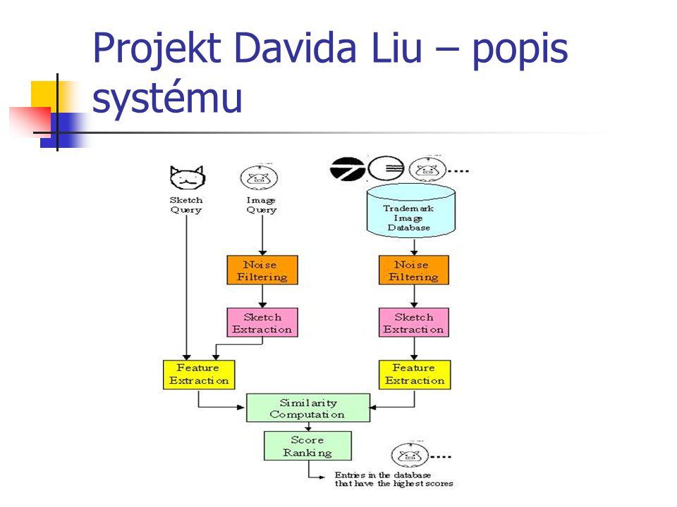 Projekt Davida Liu – popis systému