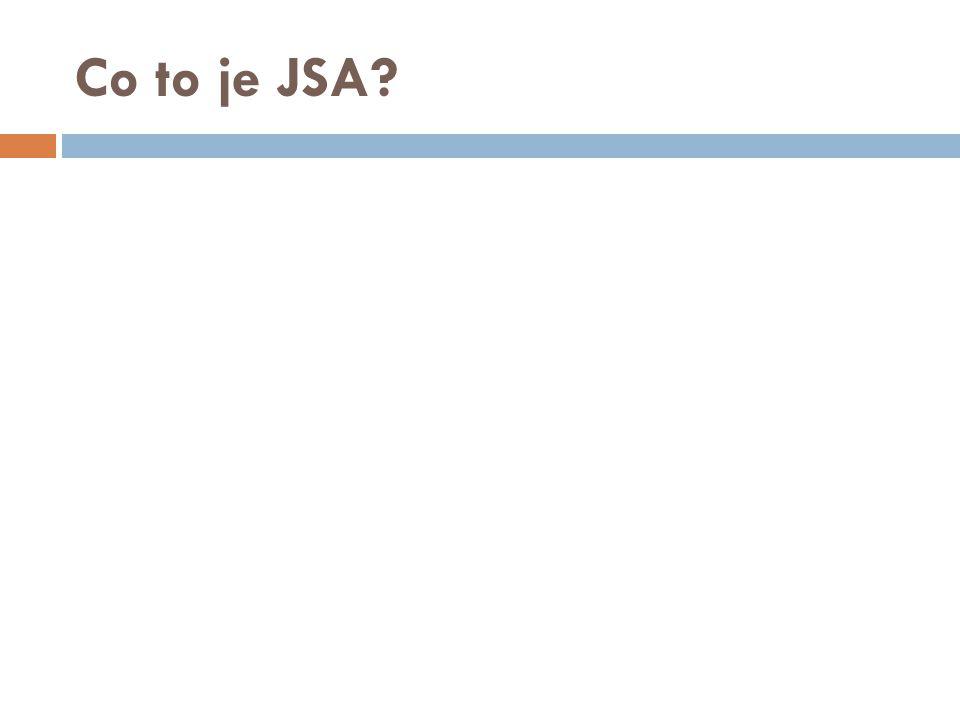 Co to je JSA?