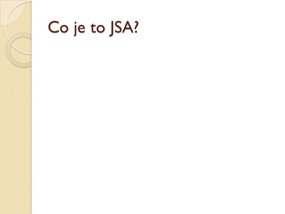 Co je to JSA