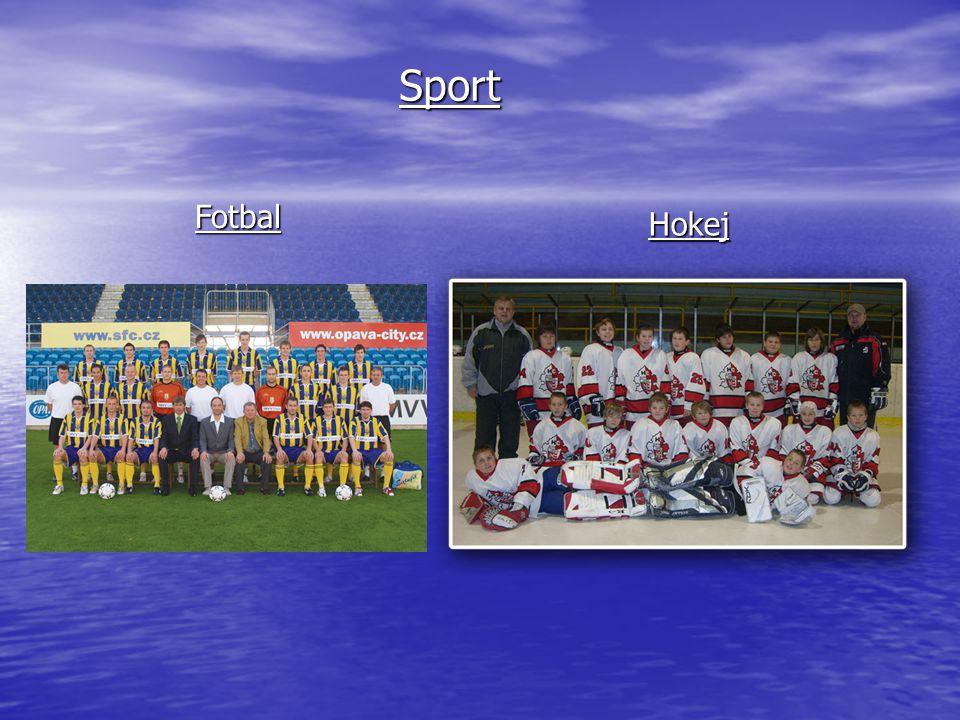 Sport Hokej Fotbal