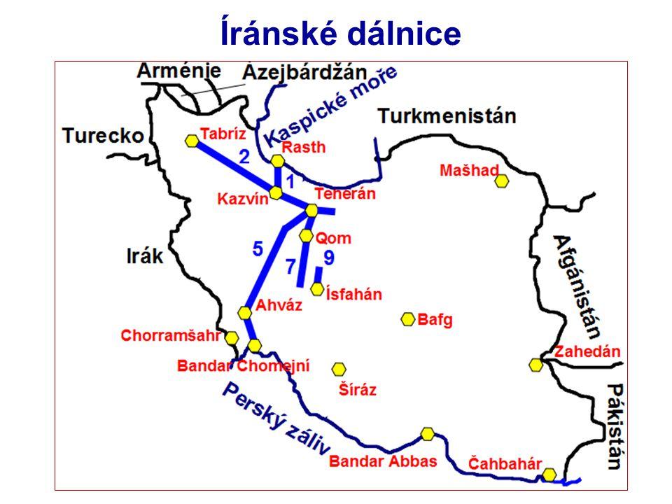 Íránské dálnice