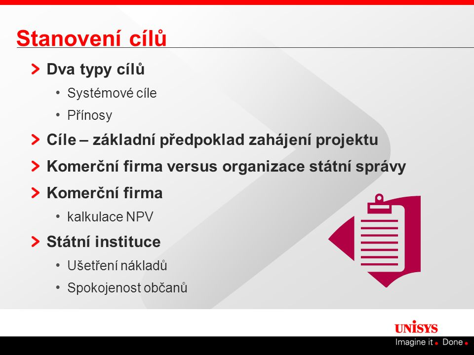 Fáze plánování projektu Stanovení cílů projektu Proces plánování Zkušenosti s plánovacím procesem Technické znalosti architektury portálu Výběr dodavatele