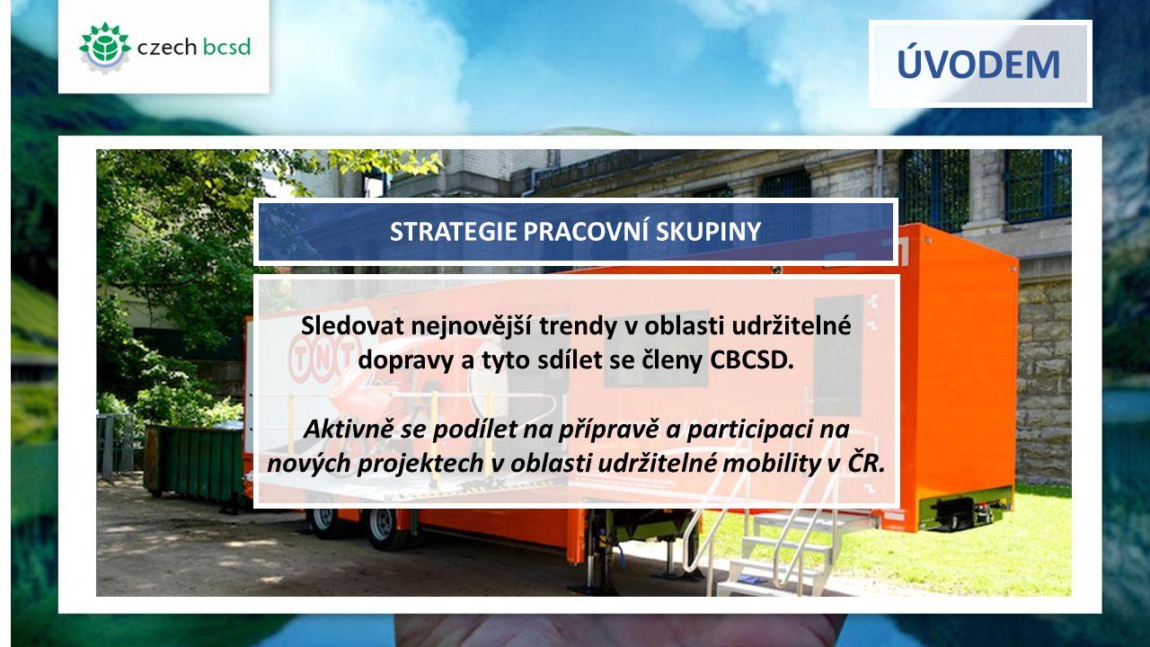 Globální cíle WBCSD v oblasti Mobility Cílem je zrychlit a rozšířit přístup pro všechny k dopravě: bezpečné spolehlivé komfortní a zároveň splňující parametry minimální (nulové) nehodovosti minimálního zatížení živ.