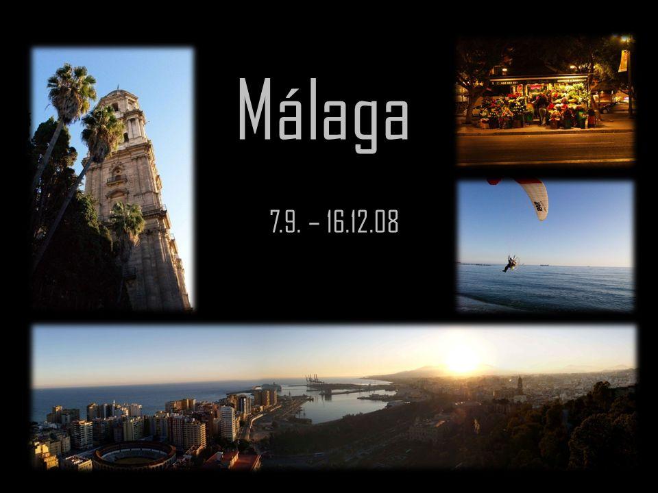 Málaga 7.9. – 16.12.08