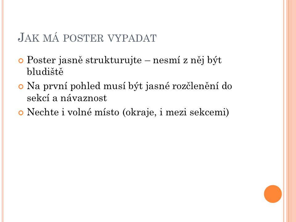 J AK MÁ POSTER VYPADAT Title Authors, Institution Title Authors, Institution Introduction Methods Results Discussion