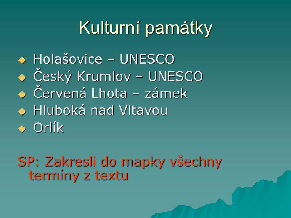 Hospodářství  Rožmberk, Svět, ….