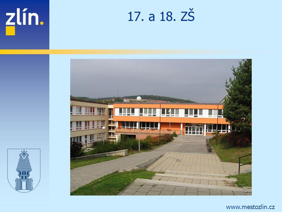 www.mestozlin.cz 17. a 18. ZŠ