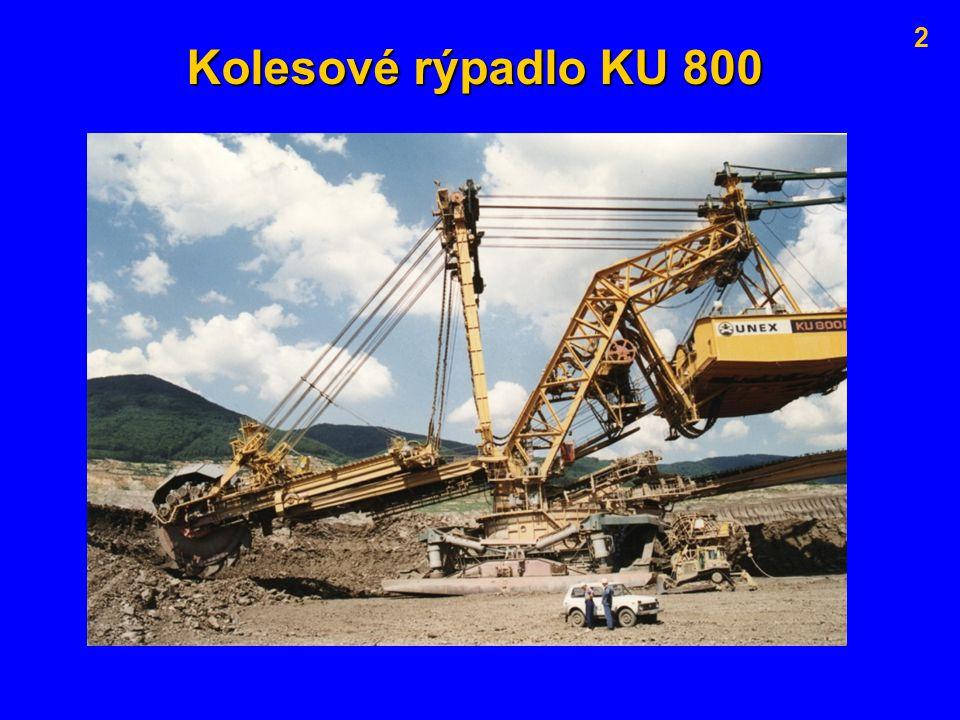 2 Kolesové rýpadlo KU 800