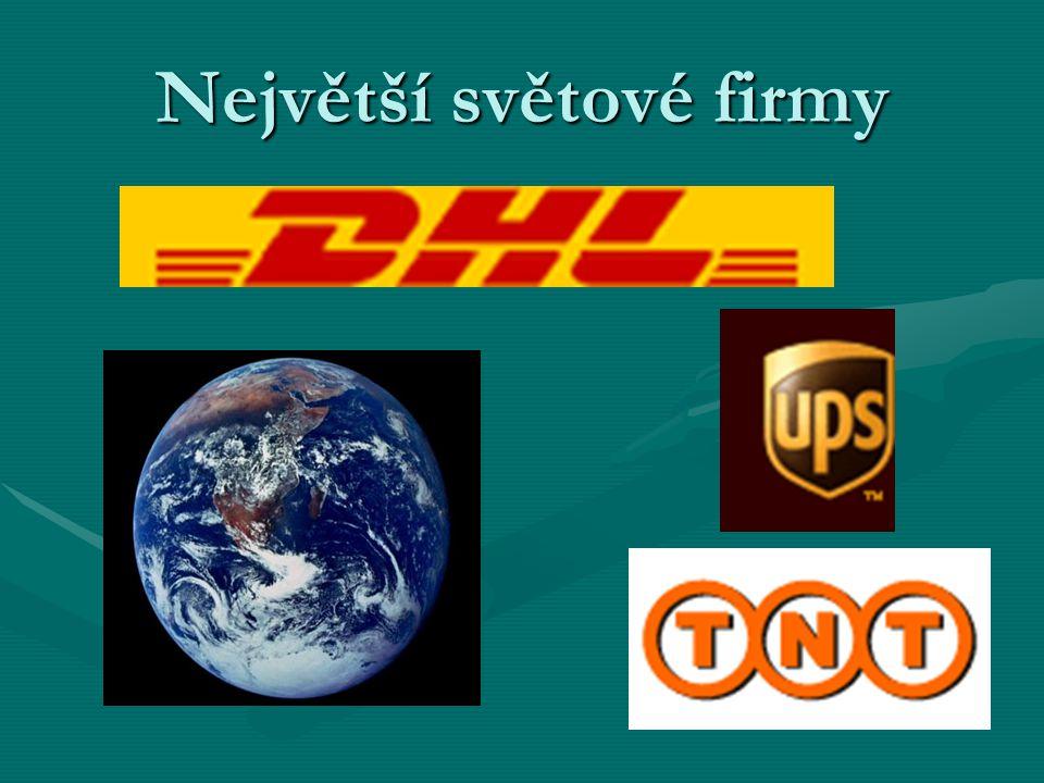 Největší světové firmy