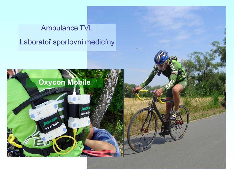 Oxycon Mobile Ambulance TVL Laboratoř sportovní medicíny