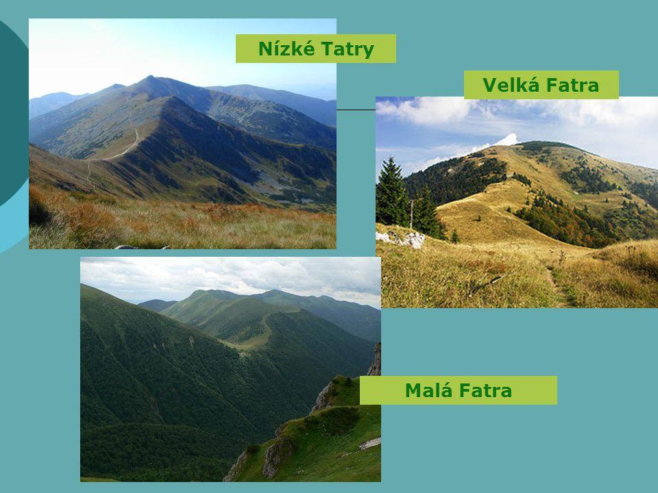 Nízké Tatry Malá Fatra Velká Fatra