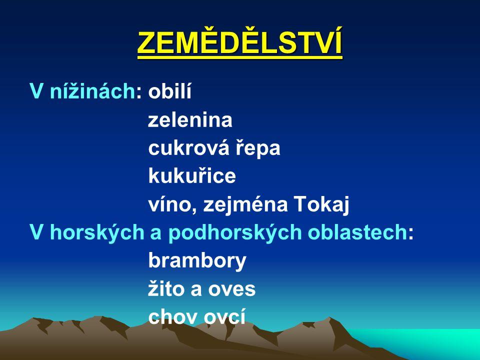 PŘÍRODA Karpatský masiv, jehož součástí jsou např.: Vysoké Tatry Nejvyšší bod: Gerlachovský štít (2 655 m n.
