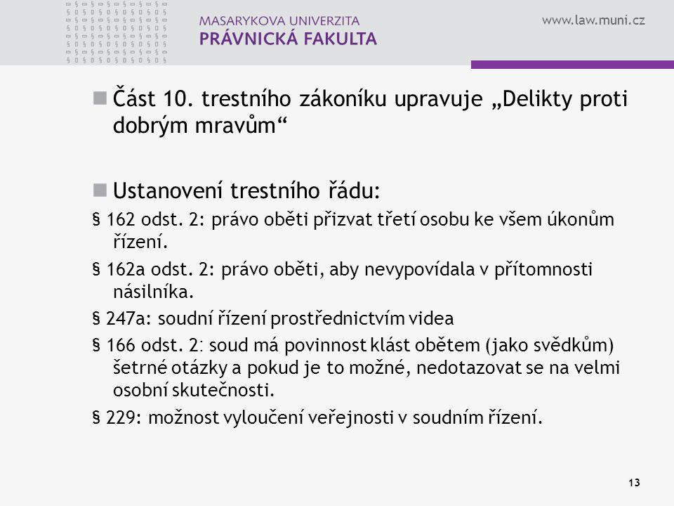 www.law.muni.cz Část 10.