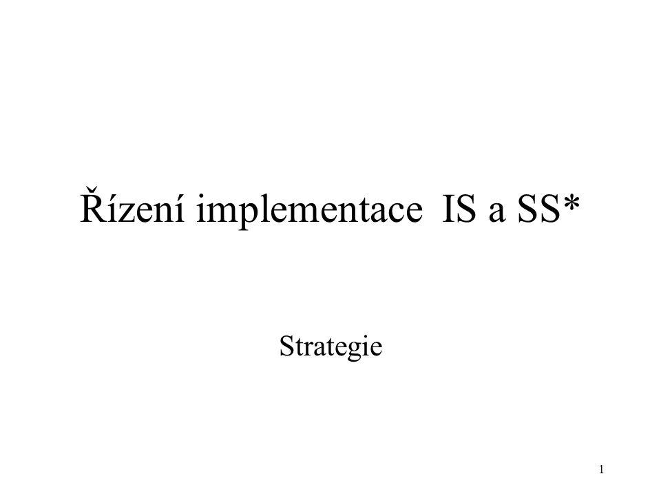 2 Informační strategie